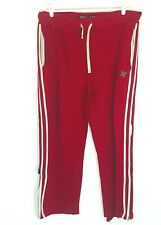 Abercrombie & Fitch Sweat Pants Red Size XL Distressed