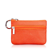 Women Men Mini Leather Coin Purse Wallet Clutch Zipper Pouch Handbag Soft Bag