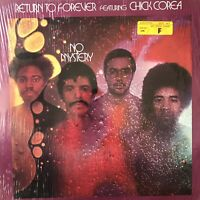 RETURN TO FOREVER featuring CHICK COREA No Mystery PD-6512 Vinyl LP-33 VG+ Jazz