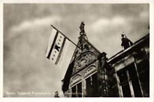 CPA Assen Topgevel Provinciehuis met de Drentse vlag NETHERLANDS (728973)
