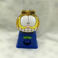Vintage Plastic GARFIELD Mini Gumball Machine Keychain