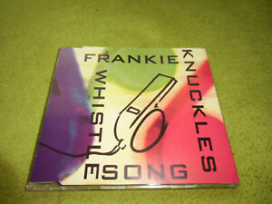 Frankie Knuckles - The Whistle Song *UK*NEU* TOP HIP HOP*HOUSE*CD SINGLE
