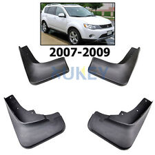 SET FIT FOR 2007~2009 MITSUBISHI OUTLANDER MUD FLAP FLAPS SPLASH GUARD MUDGUARDS