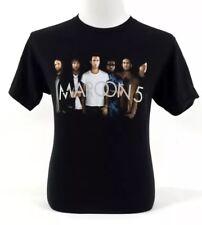 Maroon 5 '2017 Tour' Original Concert T-Shirt Black Size 2x American Apparel T