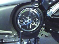 2 ADESIVI IN RESINA 3D protezione CARTER argento cromo per YAMAHA TMAX 2001/2011