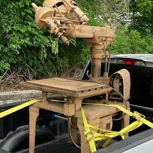 Walker Turner Radial Drill Press with Colt Firearms Electrical Box