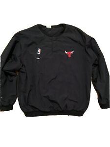 Vintage Chicago Bulls Nike Pullover Windbreaker Jacket Size Mens Large