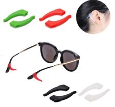 4 Pair Anti Slip Glasses Ear Hooks Tip Eyeglasses Grip Temple Holder Silicone US