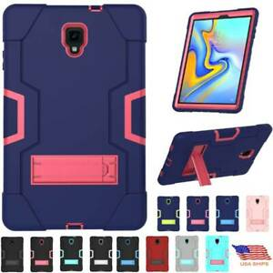 "For Samsung Galaxy Tab A 8.0"" 10.5"" Shockproof Rubber Hard Kickstand Case Cover"