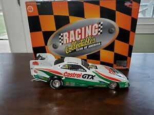 NEW IN BOX NHRA 1/24 JOHN FORCE RCCA 1997 CASTROL FORD MUSTANG  1/3500 FUNNY CAR