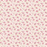 Dolls House Miniature Pink Blossom Wallpaper