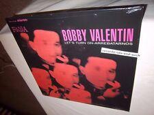 BOBBY VALENTIN-LET'S TURN ON-ARREBATARNOS-FANIA SLP 343 NEW SEALED VINYL LP