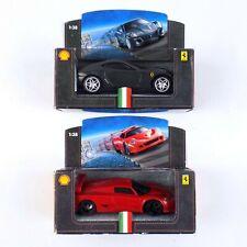 Hot Wheels Shell Ferrari 599 GTB Fiorano & F50 GT 1/38 Diecast