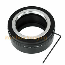 Adjustable M42 Lens to CANON EOS M EF-M Mirrorless Camera M5 M6 M100 Adapter