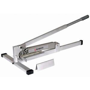 Flooring Cutter 45-Degree Miter Guide Aluminum Handle Grip Replacement Blade