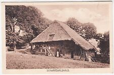 A SCHWARZWALDHAUS - by Louis Glaser / Leipzig - Germany -  c1910s era postcard