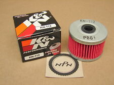 New K&N Performance 1981-84 Honda XR500 R GB400 F GB400 F2 KN-112 Oil Filter
