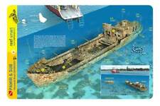 Pamir & Sub Wrecks Barbados Reef Smart Waterproof Dive Card