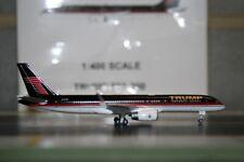 Gemini Jets 1:400 Donald Trump Boeing 757-200 N757AF Die-Cast Model Plane