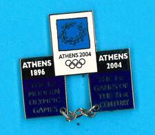 Athens 2004 summer Olympic Games pin - logo - sport trader badge