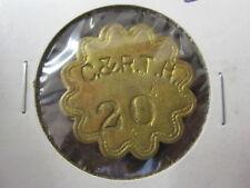 C & R.T.H. 20 Check Token; Anne Arundel Co. Maryland