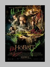 """THE HOBBIT : THE DESOLATION OF SMAUG PP SIGNED 12"""" X 8"""" A4 PHOTO POSTER SMOG"""