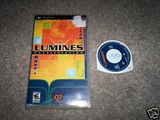 Lumines Sony PSP Game & Case Playstation Portable