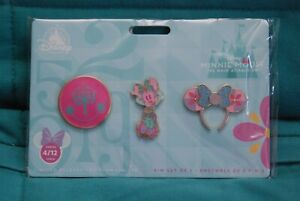 Minnie Mouse Main Attraction Small World Pin Set