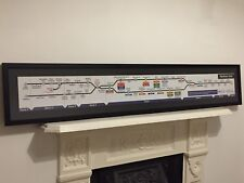 London Underground Northern Line Diagram Tube Carriage Map 2012