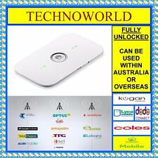 UNLOCKED HUAWEI E5573+4G/4GX WIFI MOBILE MODEM/BROADBAND+DUAL ANTENNA PORT