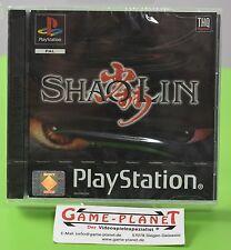 ShaoLin OVP Sony Playstation 1 P1 PSX Pone  NEU in Folie! Kampfspiel NEW BOX