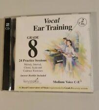 Vocal Ear Training Grade 8 Medium Voice C-E