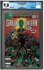 GREEN LANTERN CORPS #198 CGC 9.8 (3/86) DC white pages