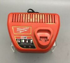Milwaukee M12 12V Volt Lithium-ion Battery Charger - Red/Black- 48-59-2401 - B23