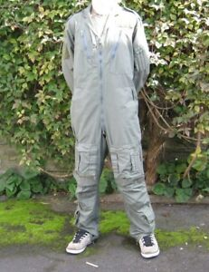 British RAF Flight Suit Green + Desert Royal Air Force Army Flightsuit Coverall