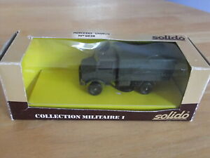 Solido Military Mercedes Unimog Canvas Back Truck - 1/50 Scale Khaki BOXED