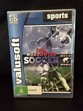 SEGA WORLDWIDE SOCCER PC CD ROM GAME 2005 FOOTBALL RARE CHEAP AUS