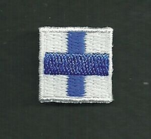 """5/8 """" International Maritime Signal Drapeau Lettre X-Ray Broderie Patch"""