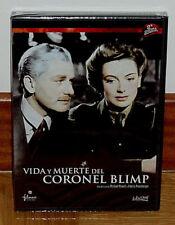 VIDA Y MUERTE DEL CORONEL BLIMP - DVD - NUEVO - PRECINTADO - BELICO - CLASICO