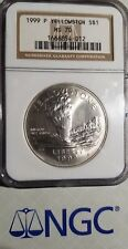1999 P MS70 Yellowstone Commemorative Silver Dollar NGC