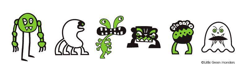 Little Green Monsters Kidswear