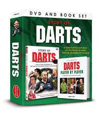 The STORY OF DARTS DVD AND BOOK SET -LITTLE BOOK DARTS PLAYER BY PLAYER GIFT SET