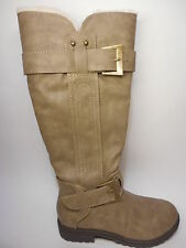 Soda Girls Casual Boots Knee High Brown Tan Size 13 NWT