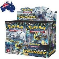 AU! Pokemon TCG Sun & Moon Lost Thunder Booster Box - Includes 36 Booster Packs