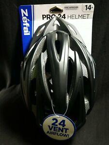 ZEFAL Cycling Helmet Adult Unisex Large 58-61cm Bicycle Helmet Model 5671, Black