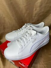 New!  PUMA WOMENS size 8.5  White Athletic-Tennis shoes Vikky v2