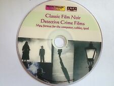 Classic Film Noir 1 - Detective Crime Films -  for iPad, Nexus 7 & other tablets