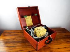 Vtg Drum Trommel Sextant German Frieberger Marine Nautical Navigation Instrument