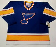 ST. LOUIS BLUES - size XXL - 1992 to 1994 style CCM 550 VINTAGE Hockey Jersey