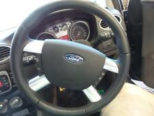 FORD FOCUS STEERING WHEEL LEATHER, LV, 04/2009-07/2011 09 10 11